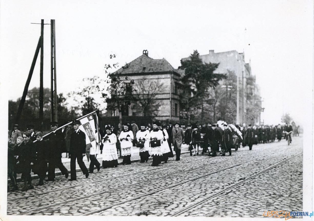Pogrzeb Kazimierza Nowaka
