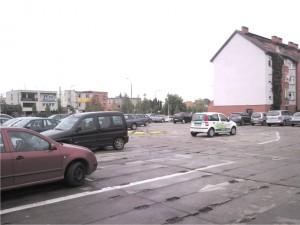 Parking płatny i pustawy...