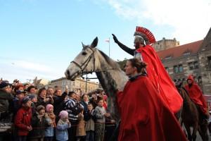 Święty Marcin na koniu...