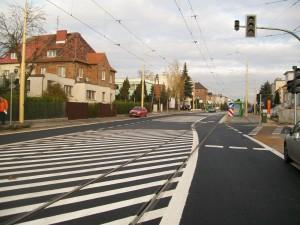 ul. Winogrady - nowy asfalt, nowa zieleń, nowe zasady ruchu.