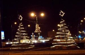 Kaponiera w świątecznym wystroju