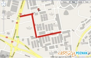Miejsca remontu / google maps