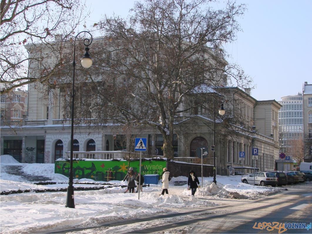 Początkowo mieścił się tu teatr miejski z 800 miejscami na widowni  Foto: