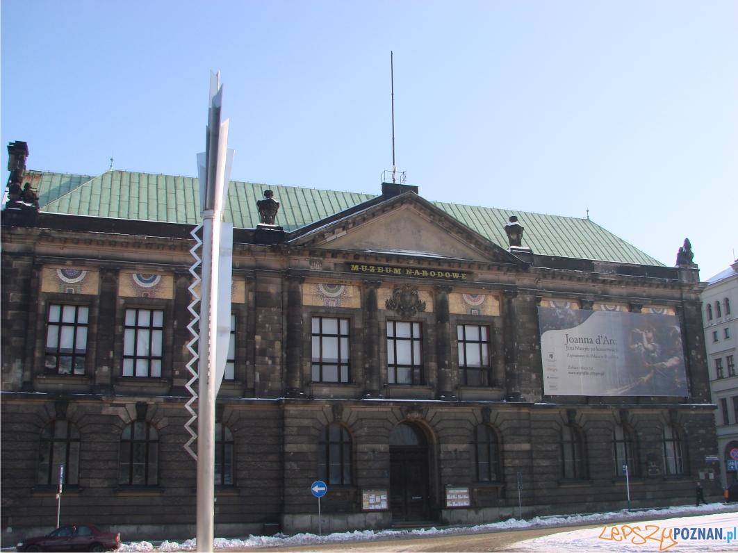 założone w 1894 roku Provinzial Museum in Posen w tym budynku od 1904  Foto:
