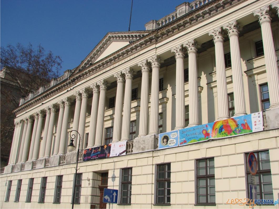 Biblioteka Raczyńskich została zbudowana w latach 1822-1828 wg. pomysłu hrabiego Edwarda Raczyńskiego  Foto:
