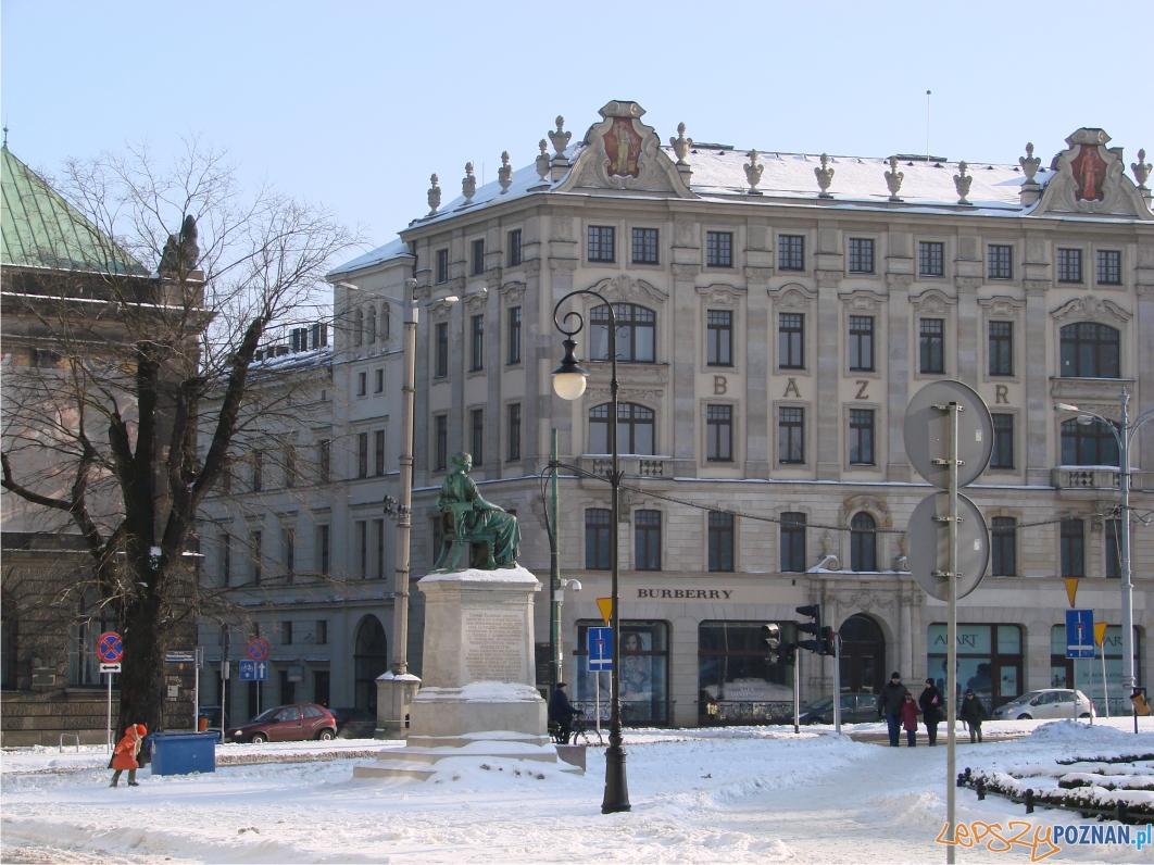 Budowa Bazaru zakończyła się w 1842 roku  Foto: lepszyPOZNAN.pl