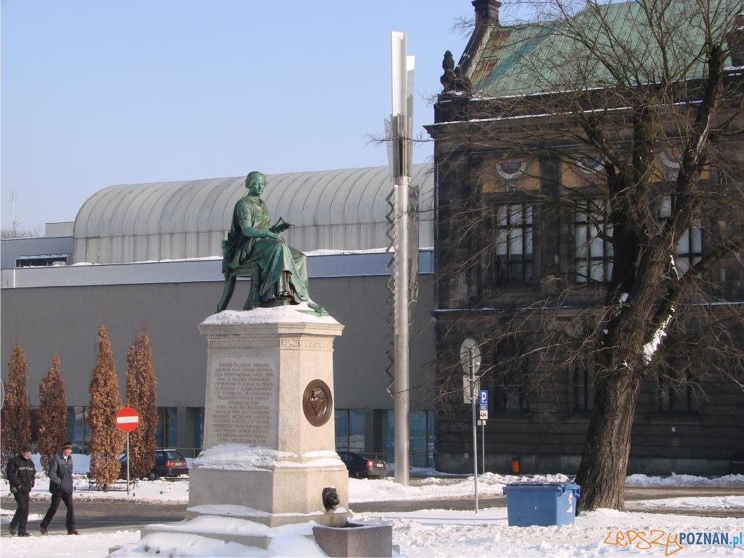 Posąg Hygei mający rysy Konstancji Raczyńskiej z Potockich  Foto: lepszyPOZNAN.pl / ag