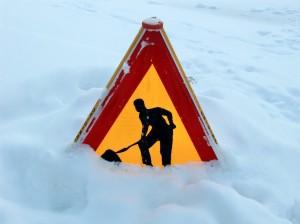 uwaga śnieg Foto: sxc