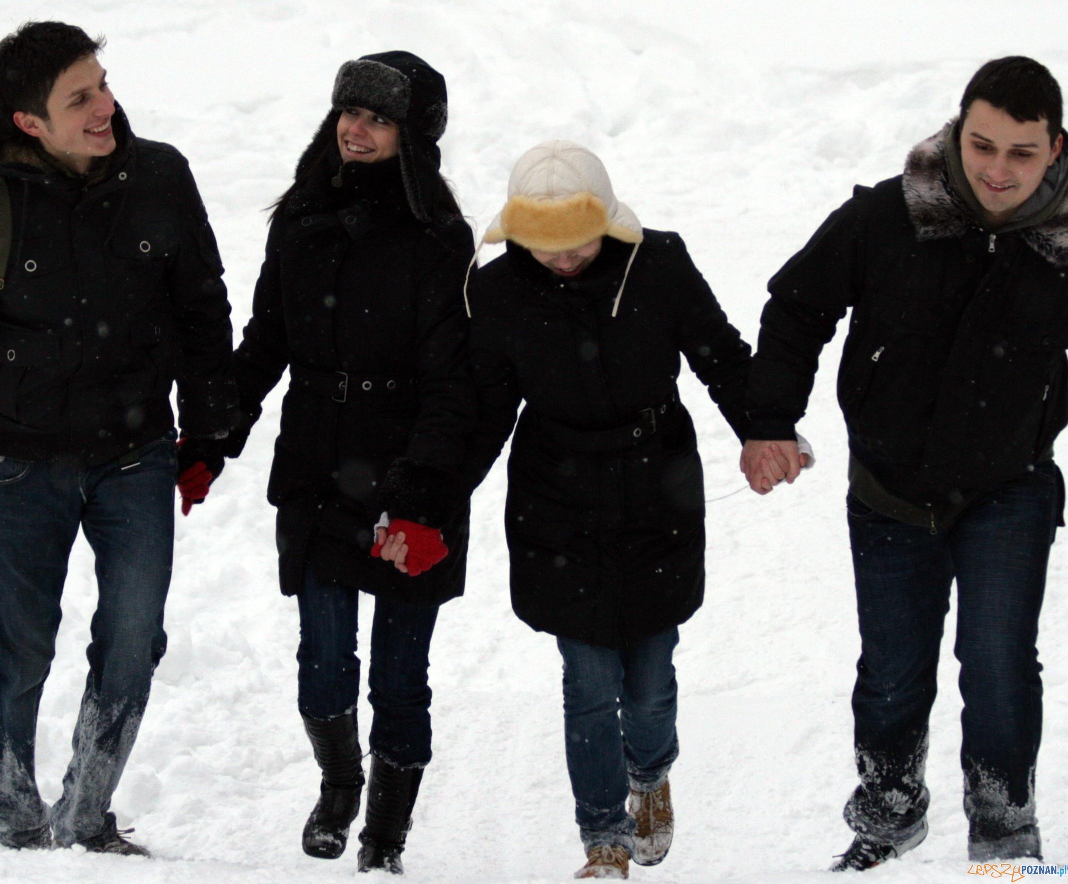 spacer snieg 2  Foto: