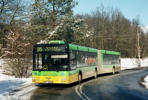zimowy autobus Foto: MPK