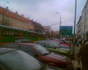 Żeromskiego Dąbrowskiego - awaria zasilania