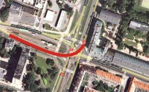 google maps - dąbrowskiego