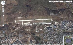 google - lotnisko w Smolensku