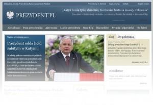 strona prezydenta