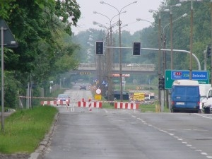 foto: lepszyPOZNAN - fala kulminacyjna w Poznaniu - zamknięta Droga Dębińska