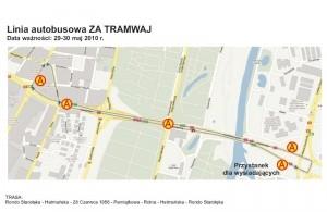 grafika: MPK - hetmanska linia za tramwaj
