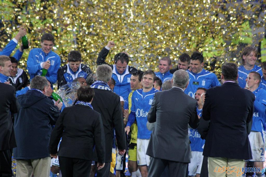 Lech Mistrzem Polski sezonu 2009/2010 Foto: lepszyPOZNAN.pl