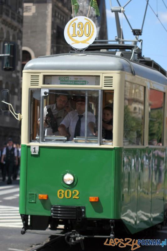 Zabytkowy tramwaj - 130 lat MPK w Poznaniu Foto: Paweł Rychter