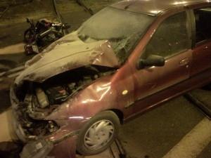 wypadek na Krańcowej Foto: lepszyPOZNAN
