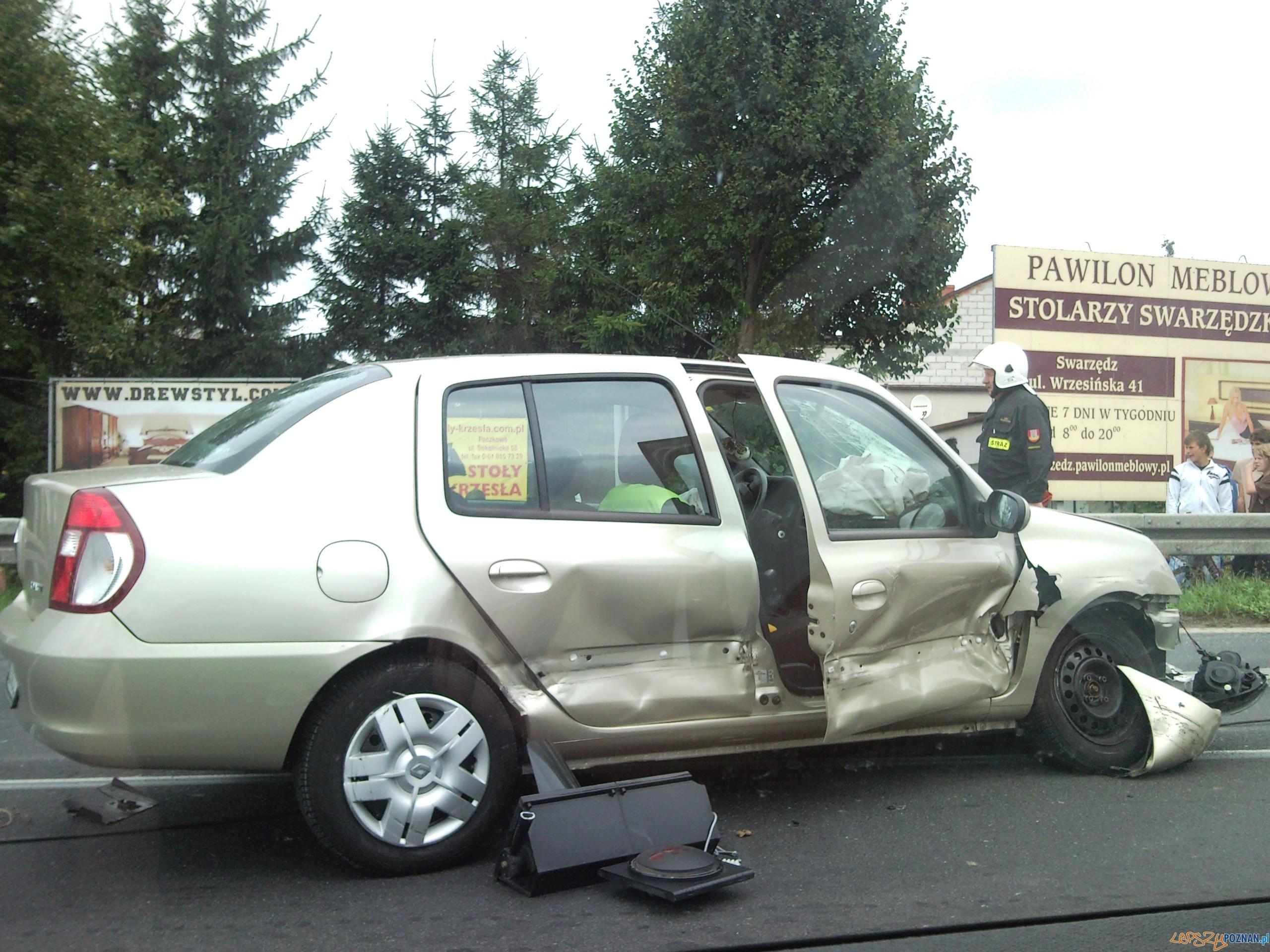 wypadek w Paczkowie