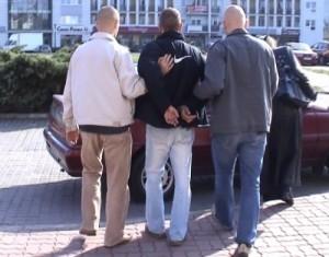 zatrzymanie handlarza tabletkami na potencję Foto: KWP w Poznaniu