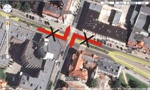 remont na Dąbrowskiego Foto: google maps / lepszyPOZNAN