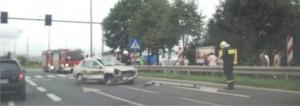 wypadek w Paczkowie Foto: lepszyPOZNAN