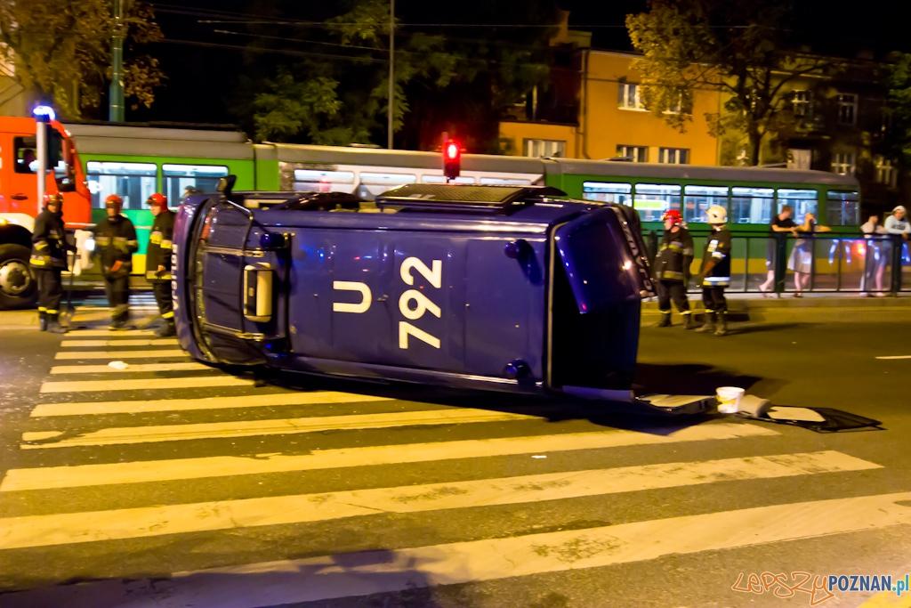 Wypadek Głogowska/Hetmańska - 17.08.2010 r.  Foto: Piotr Rychter