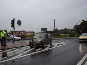 Zderzenie Lutycka/Strzeszyńska Foto: Andrzej