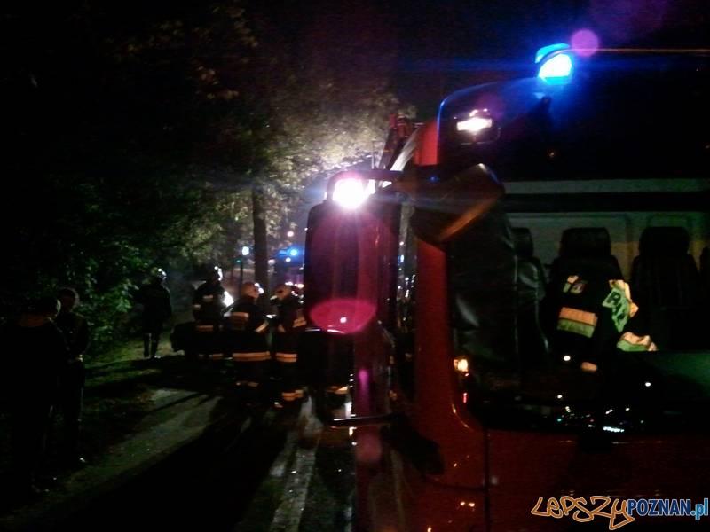 wypadek w Swarzędzu  Foto: lepszyPOZNAN.pl / gsm