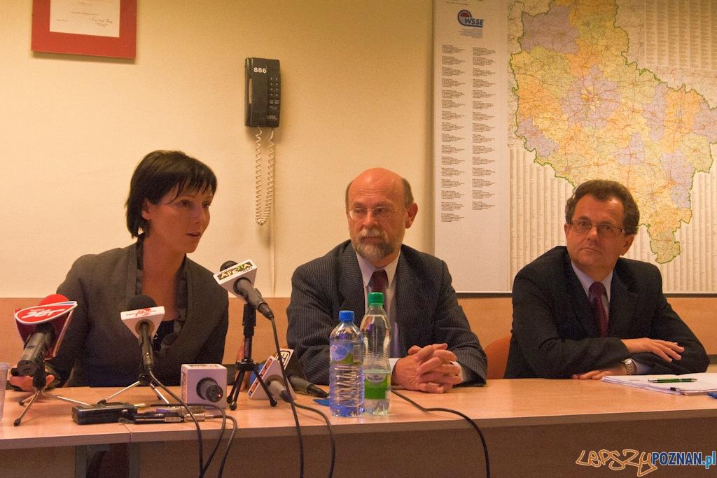 Konferencja na temat dopalaczy w Wojewódziej Stacji Sanitarno-Epidemiologicznej - Poznań 2010.10.20 r.  Foto: Paweł Rychter