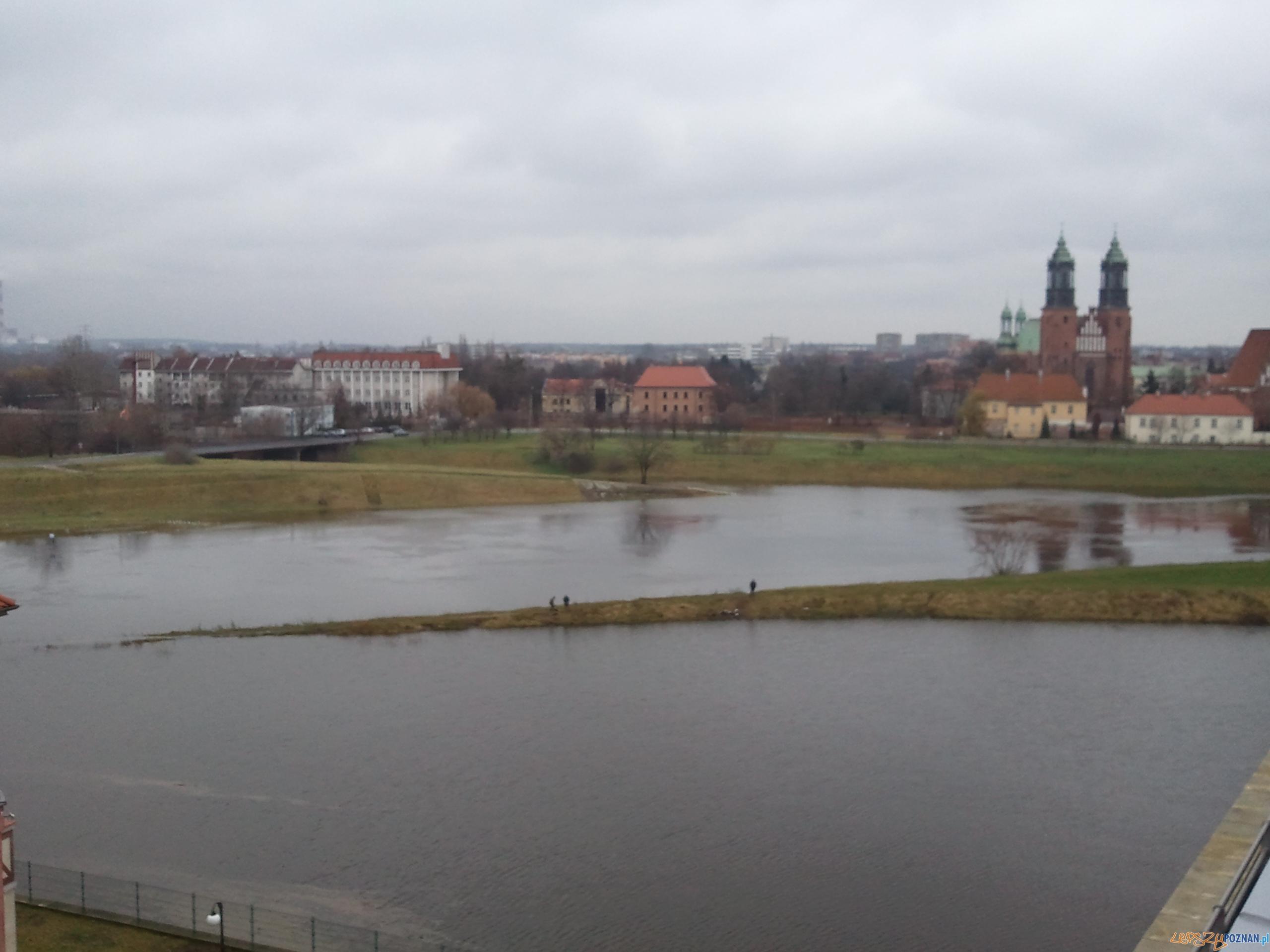 Więcej wody w Warcie  Foto: lepszyPOZNAN.pl / gsm