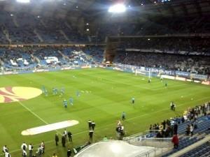 rozgrzewka przed meczem Foto: lepszyPOZNAN.pl / gsm