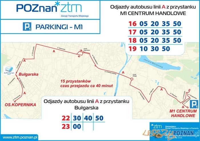 Parking P1 - M1 Foto: ZTM