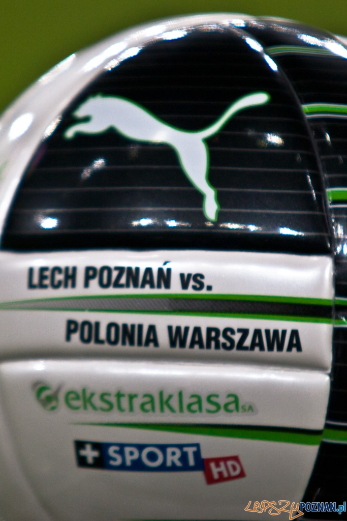 KKS Lech Poznañ - Polonia Warszawa - 10.11.2010 r.  Foto: Piotr Rychter