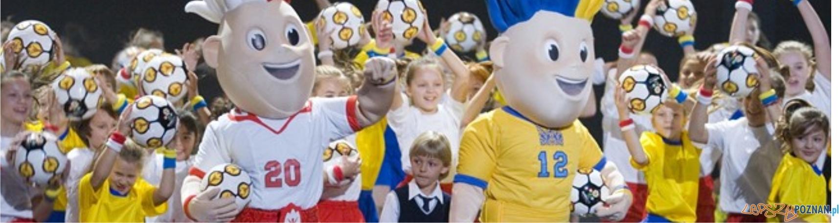 panorama maskotki euro  Foto: UEFA
