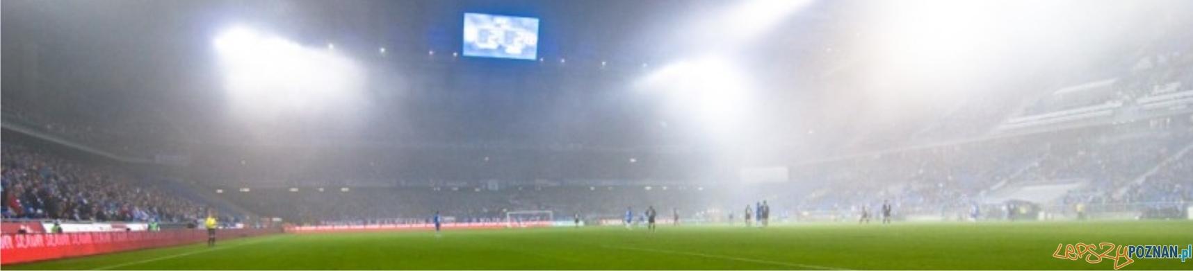 panorama stadion mgła  Foto: lepszyPOZNAN.pl / Piotr Rychter