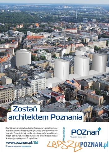 Zostań architektem Poznania  Foto: UMP
