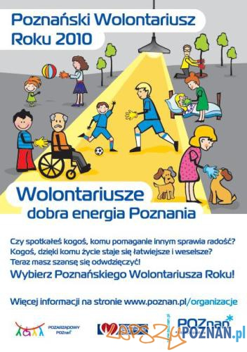 Poznański Wolontariusz Roku Foto: Miasto Poznań