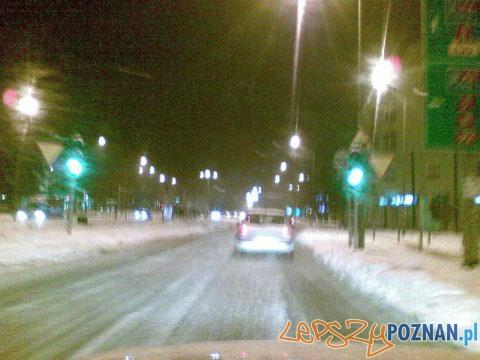 Sytuacja na drodze  Foto: paweł