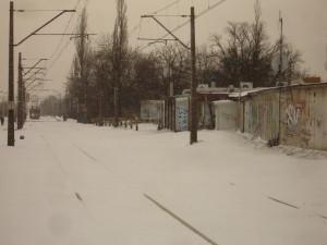 Zasypane tory kolejowe Foto: Maciej