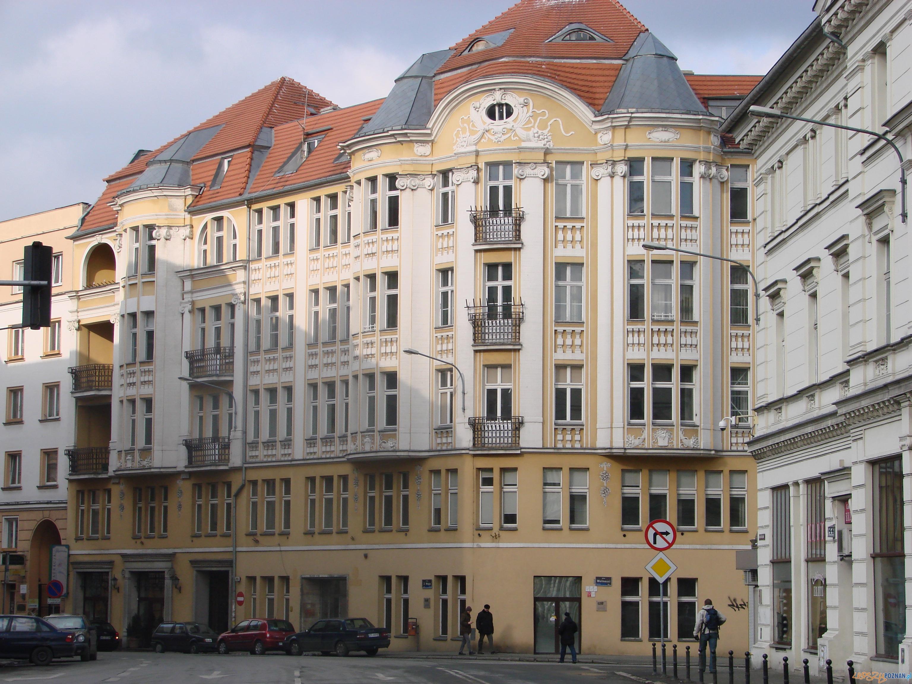 ulica 3 Maja w Poznaniu  Foto: lepszyPOZNAN.pl / ag