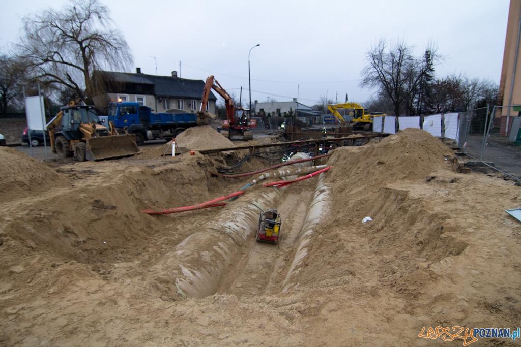 Wybudowany odcinek kolektora prawobrzeżnego II pod ulicą Podwale  Foto: lepszyPOZNAN.pl / Piotr Rychter