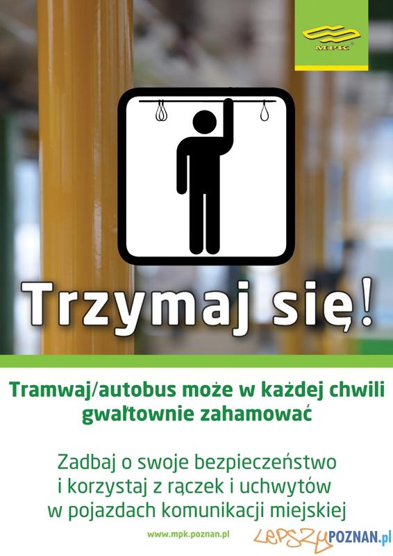 trzymaj sie - plakat Foto: MPK