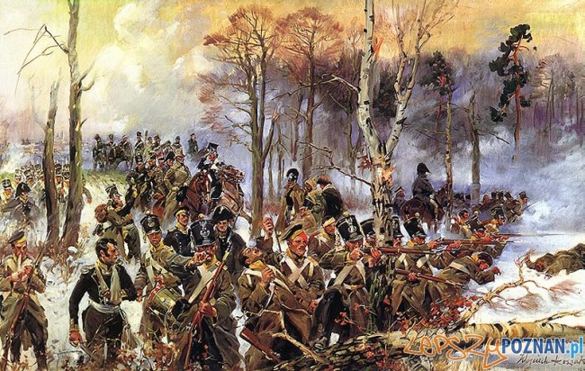 Bitwa pod Olszynką Grochowską, obraz Wojciecha Kossaka Foto: wikipedia