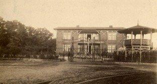 Ogród zoologiczny (stare ZOO) na Jeżycach w Poznaniu, lata 1886-1888