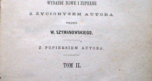 Ramoty i ramotki Augusta Wilkońskiego