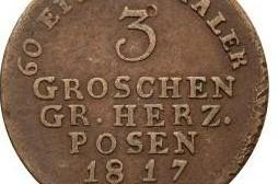 Trojak Wielkiego Księstwa Poznańskiego (1817)