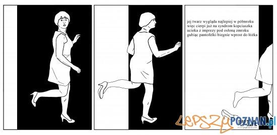 """""""światło wstrętna"""" - Wystawa komiksów Agnieszki Szczepaniak  Foto: Wystawa komiksów Agnieszki Szczepaniak"""