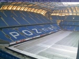 Stadion pod lupą CBA Foto: EURO Poznań 2012